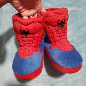 Spiderman house booties
